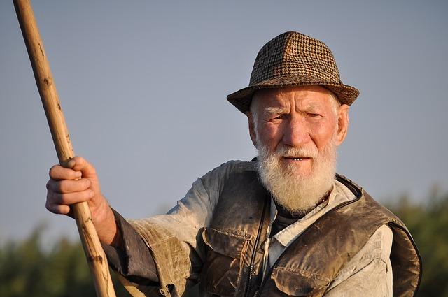 starý rybář
