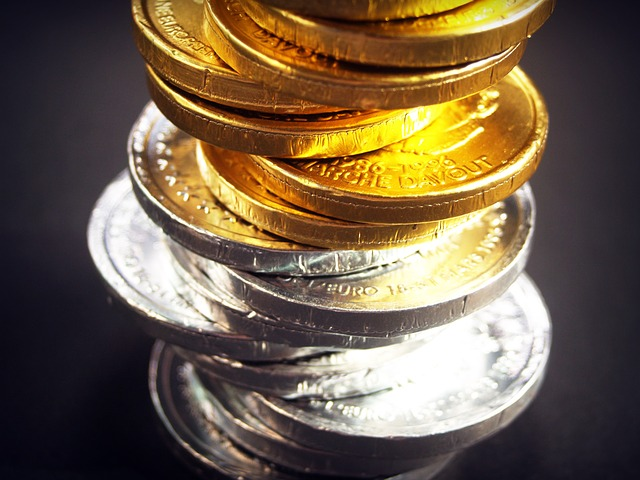 barevné mince
